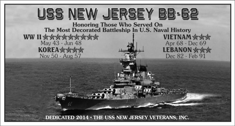 Uss New Jersey Veteran S Inc